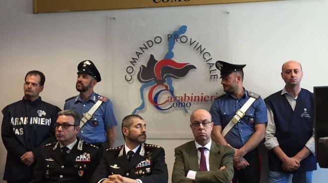 arresti carabinieri per caporalato pianello del lario conferenza