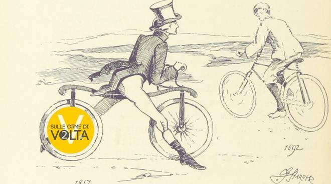 biciclettata luminosa
