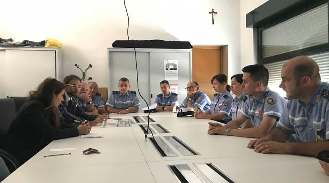 bilancio controlli polizia locale giardini di como vice sindaco locatelli e polizia locale