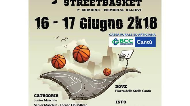 Cantucky streetbasket 3 vs 3, presentazione campi e locandina ufficiale