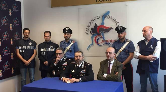 carabinieri arresto per caporalato a pianello del lario