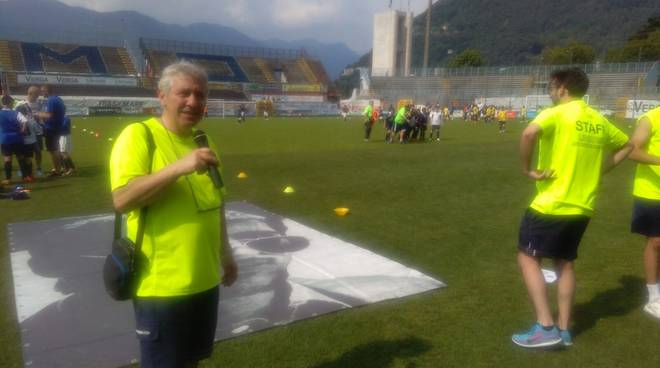 premio fair-play giovane calciatore trofeo Libertas allo stadio sinigaglia