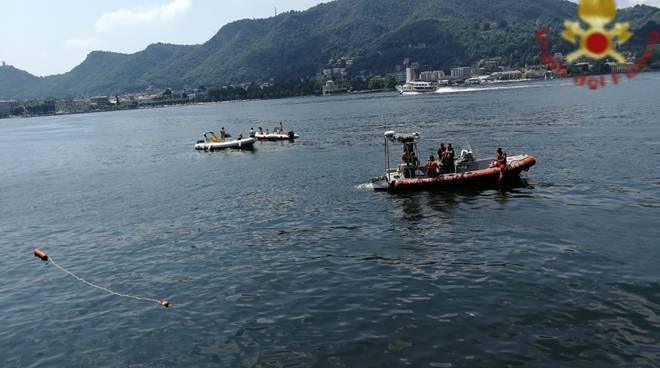 ragazzo sardo annegato nel lago di como villa geno recupero dei sub
