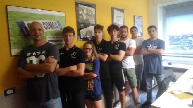 rugby como under 16 in campo e poi in redazione a CiaoComo