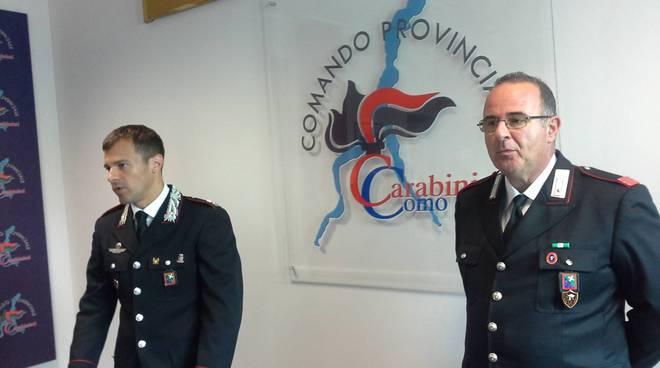 carabinieri menaggio operazione contro lo spaccio di droga nel porlezzese