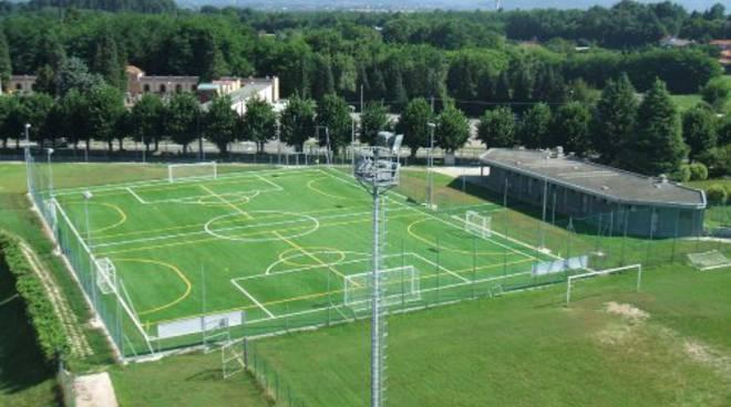 centro sportivo di Guanzate campi per allenamenti como e giovanili