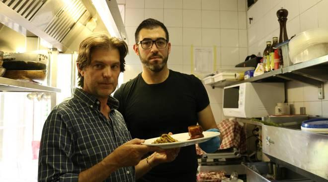 ciaocomo al crotto del sergente per vedere il piatto preferito da chef borghese
