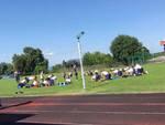 como primo giorno del raduno da arona lago maggiore allenamento campo