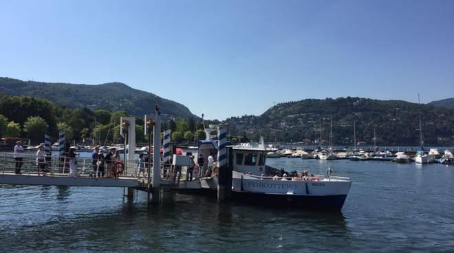 Domenica di bel tempo e grande caldo sul lago: le immagini
