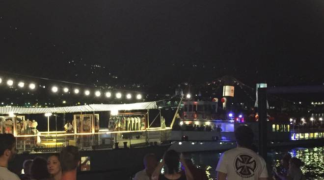 Festa a Villa Olmo, il saluto di Dolce e Gabbana a Como