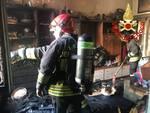 ncendio in un appartamento del centro Como e deltaplano caduto a Ronago