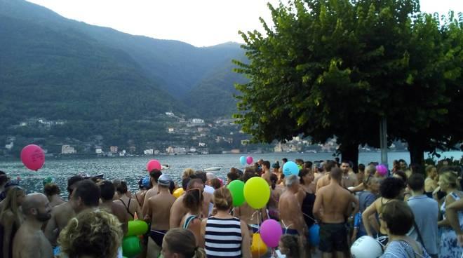 traversata del lago di como partenza da Torno con pallonicini