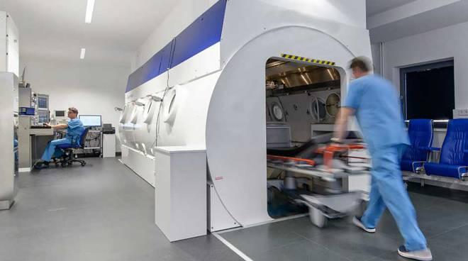 camera iperbarica trattamento per sub ospedale milano