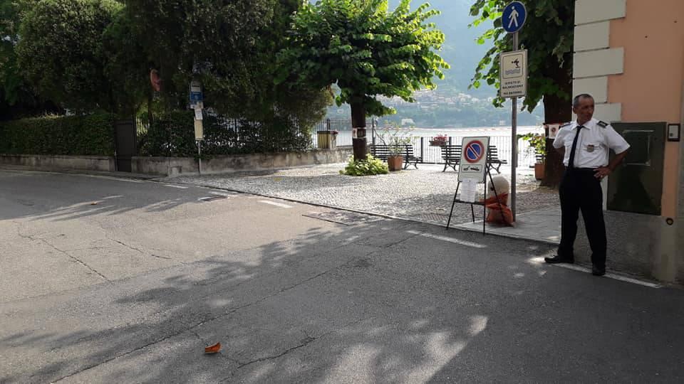 laglio strade deserte riprese film di netflix