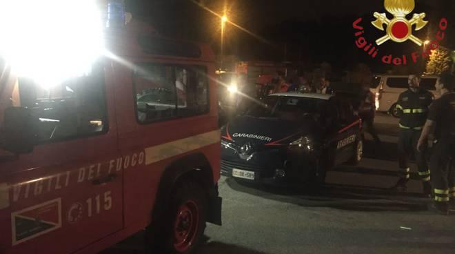 ricerche carabinieri e pompieri ragazzo scomparso da casa a mariano comense