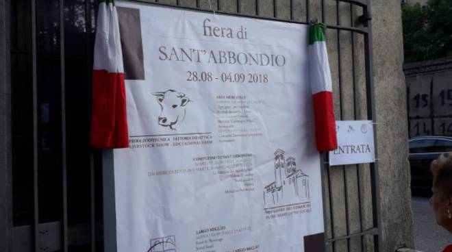 sant'abbondio 2018 inaugurazione