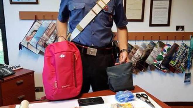 spaccio bosco di bregnano, i carabinieri arrestato spacciatore marocchino con la droga