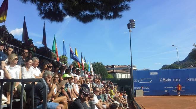 tennis challenger di como a villa olmo qualificazione grande pubblico per borwn e bellucci