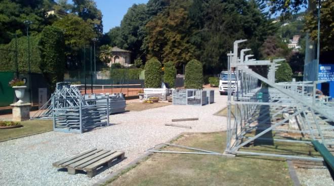 tennis como preparazione campi per challenger di como di tennis