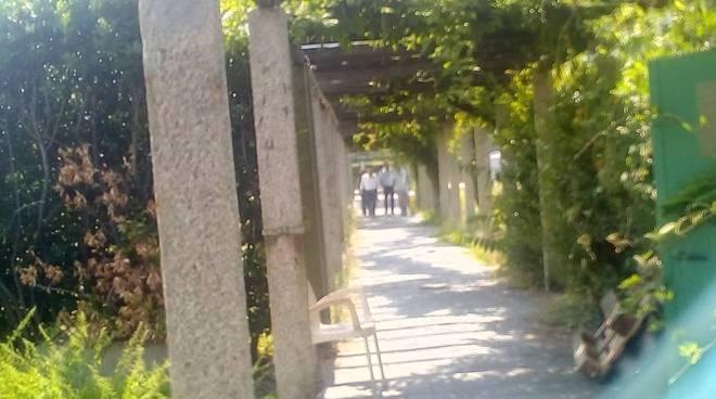Villa Olmo sopralluogo comune e sport management per riapertura lido