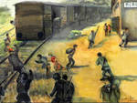 assalto al treno merone