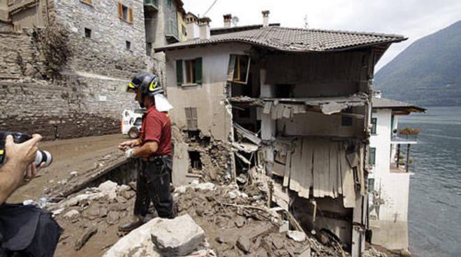 brienno frana luglio del 2011 soccorsi