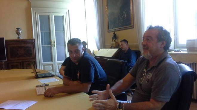 incontro in comune a como tra sindaco e dirigenti como 1907