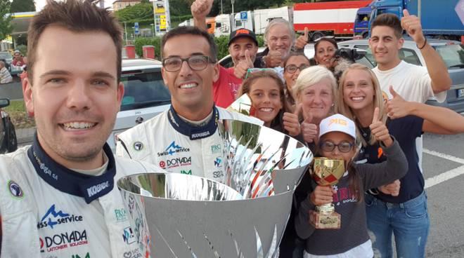 kevin gilardoni vince il rally del ticino per la terza volta di fila