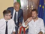 nicola molteni e matteo salvini lavoro a roma ministero interno