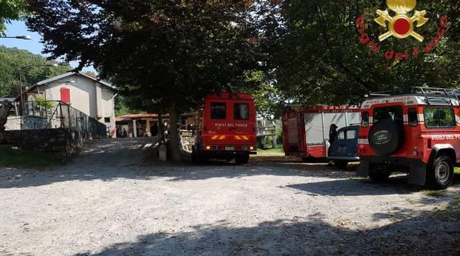 pensionato scomparso nel bosco carlazzo monti di gottro pompieri