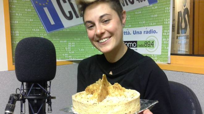 beatrice canton a ciaocomo con dolce da bake off italia 2018