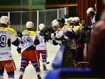 hockey como vince in casa contro valdifiemme