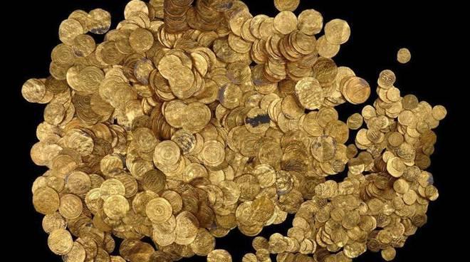 monete como ritrovamento e bilancio finale del numero