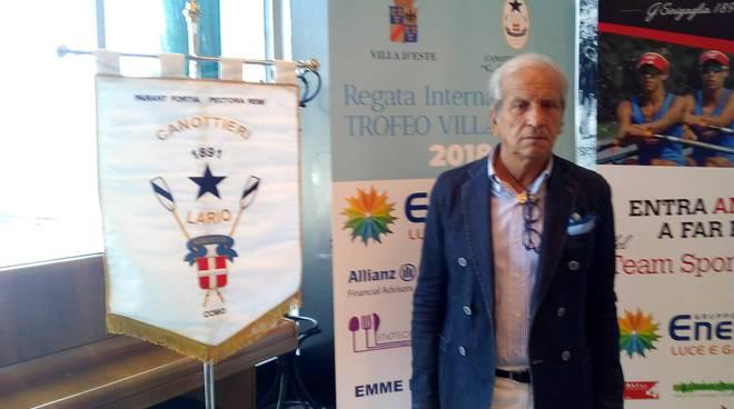 trofeo villa d'este di canottaggio 2018 presentazione sede lario