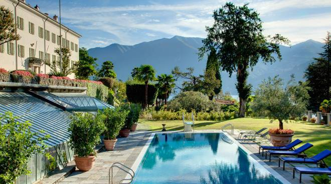 villa passalacqua moltrasio giardino esterno