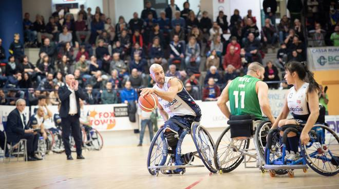 briantea basket carrozzina serie a debutto a seveso