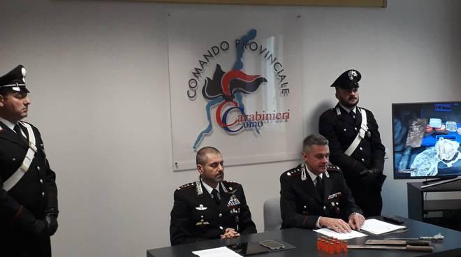 carabinieri arrestato spacciatori droga per delitto bosco locate varesino