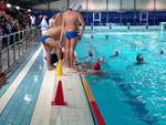 comonuoto pallanuoto maschile al debutto in piscina a milano