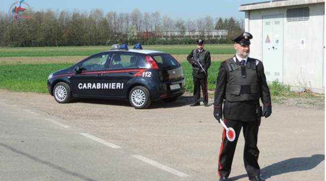 posto di blocco carabinieri mozzate