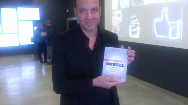presentazione del libro di alessandro nardone orwell
