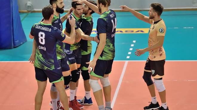 volley maschile libertas cantù a roma