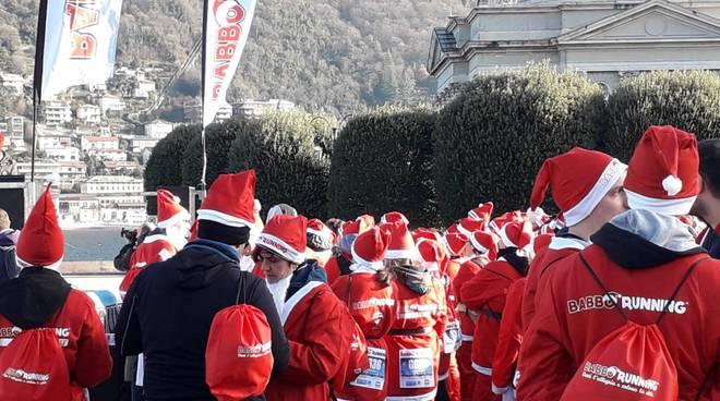 I momenti più belli della babbo-Running 2018 a Como