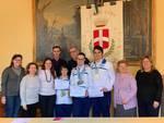 Riconoscimenti nuotatori disabili Comune di Como Osha Asp