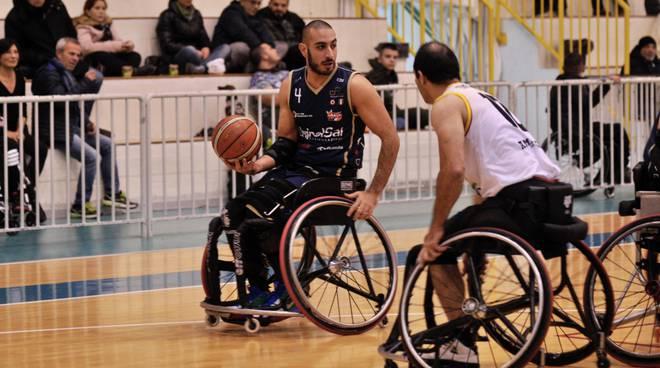 unipolsai briantea basket carrozzina trasferta di Giulianova