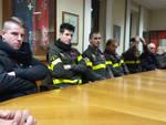 Volontari, autorità e tanta gente alla festa del pompieri di San Fedele