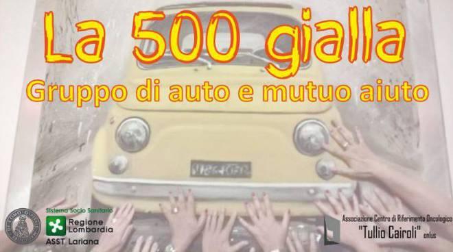 500 gialla gruppo aiuto sant'anna