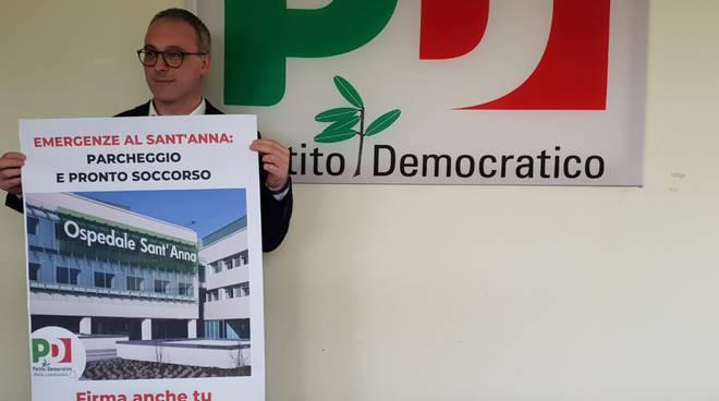 angelo orsenigo pd regionale presenta petizione per migliorare ospedale sant'anna