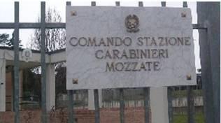 caserma carabinieri e mozzate e di turate