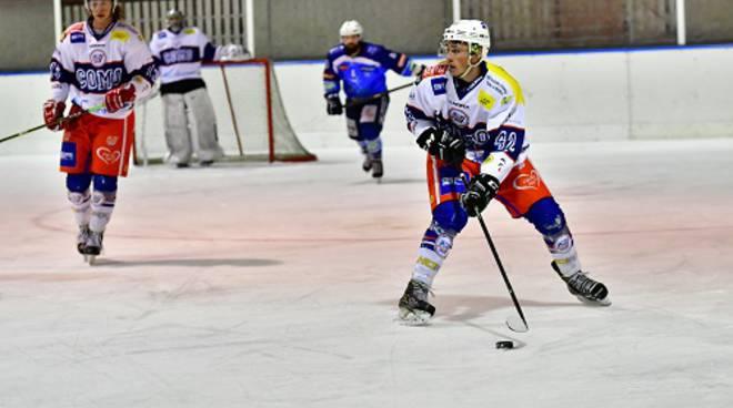 hockey como trasferta di Alleghe sconfitta 7-3