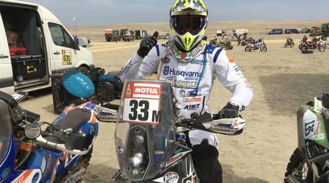 jacopo cerutti alla dakar rally 2019 dune del perù